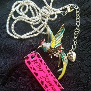 Betsey Johnson Bird Necklace